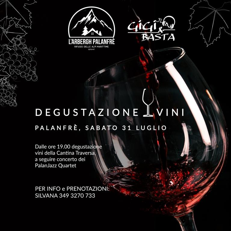 Degustazione vini al Rifugio l'Arbergh
