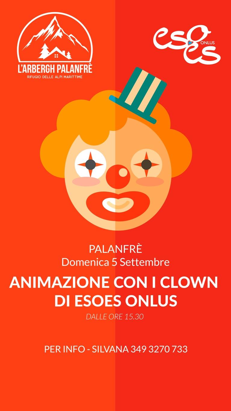 Animazione con i clown di esoes onlus